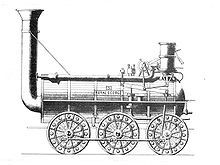 Timothy Hackworth was a steam locomotive engineer who lived in Shildon, County Durham and was the first locomotive superintendent of the Stockton and Darlington Railway.