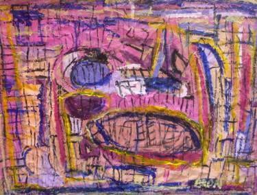 "Saatchi Art Artist Celine BRON; Painting, ""Evapink"" #art"