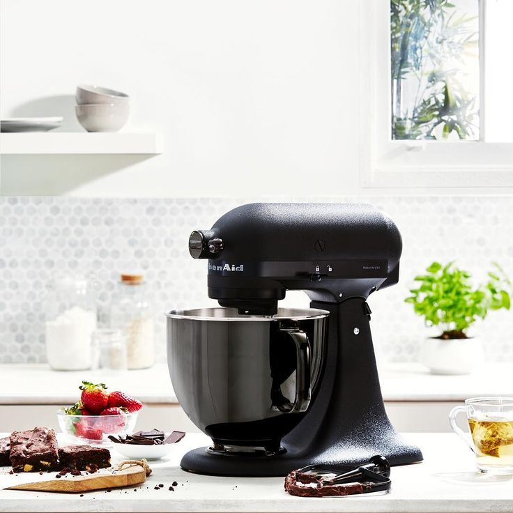 "431 Likes, 24 Comments - KitchenAid Australia & NZ (@kitchenaidausnz) on Instagram: ""Place your bid and the No.001 Limited Edition Black Tie Stand Mixer could be yours. We're hosting…"""