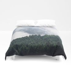 The Clearest Way Duvet Cover    Cover yourself in creativity with our ultra soft microfiber duvet covers. Hand sewn and meticulously crafted, these lightweight duvet covers vividly feature your favorite designs with a soft white reverse side. A durable an
