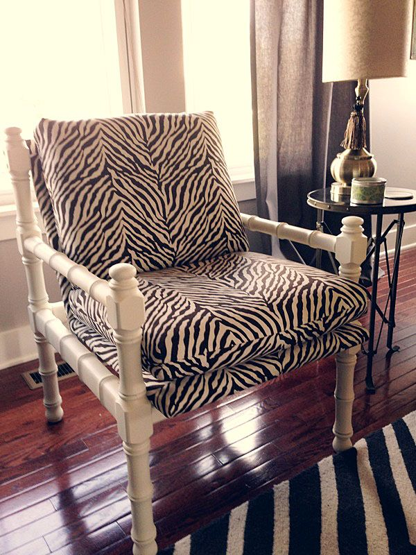 images of animal prints in the homes | Taming the Animal Printed Chair - Laurie Jones Home