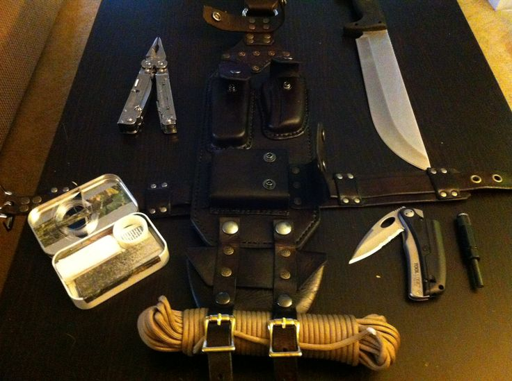 "Tactical Leather, survival, ""The Crying Cow"""