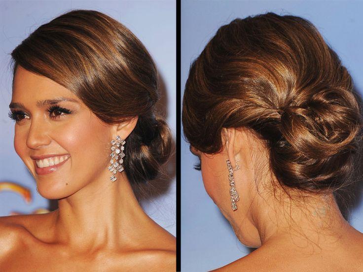 Le chignon romain d'Alessandra Ambrosio - 50 coiffures de mariage tendances 2013 - Grazia