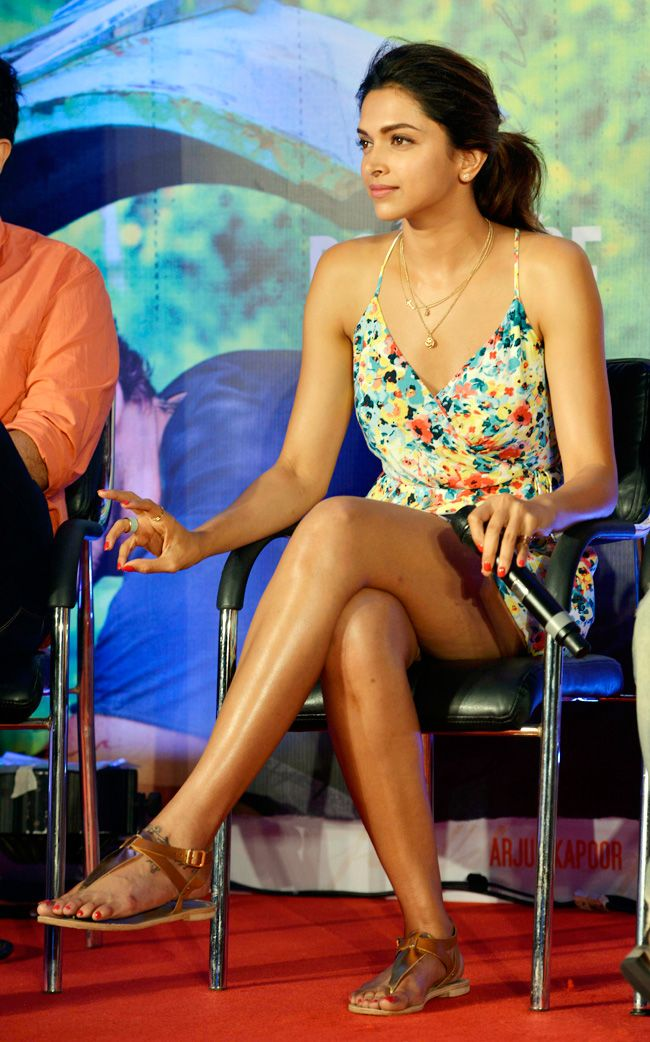 Deepika Padukone unveiled the title track of Finding Fanny. #Bollywood #Fashion #Style #Beauty