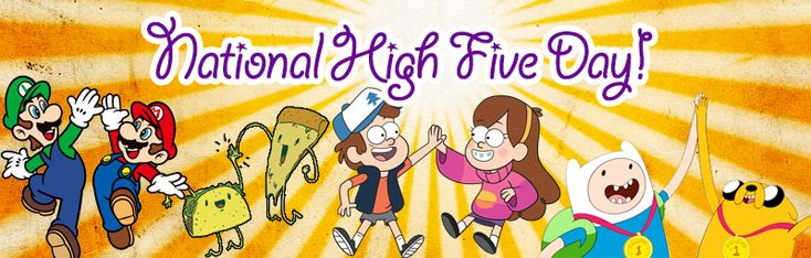 April 16th is National High Five Day!