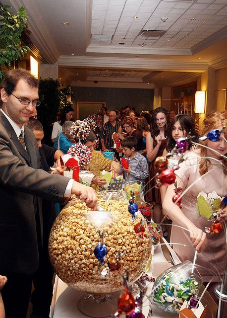 Wedding Reception Popcorn Bar!                                                                                                                                                                                 More