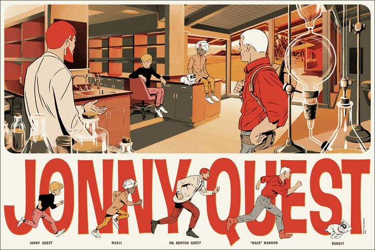 Jonny Quest by Matthew Woodson – Mondo