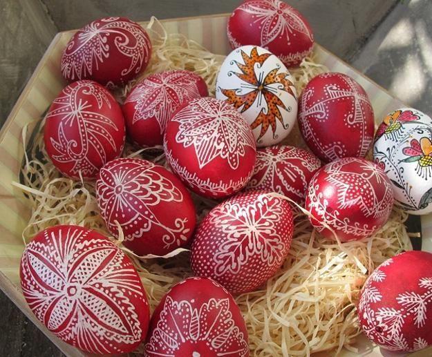 how to Orthodox Pascha Eggs