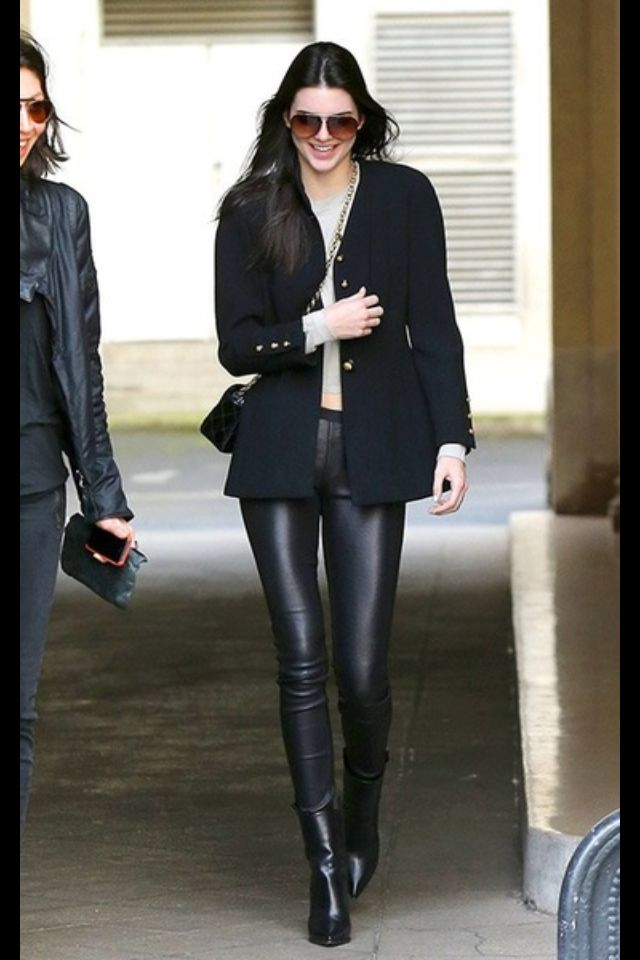 Kenda Jenner street style: Paris