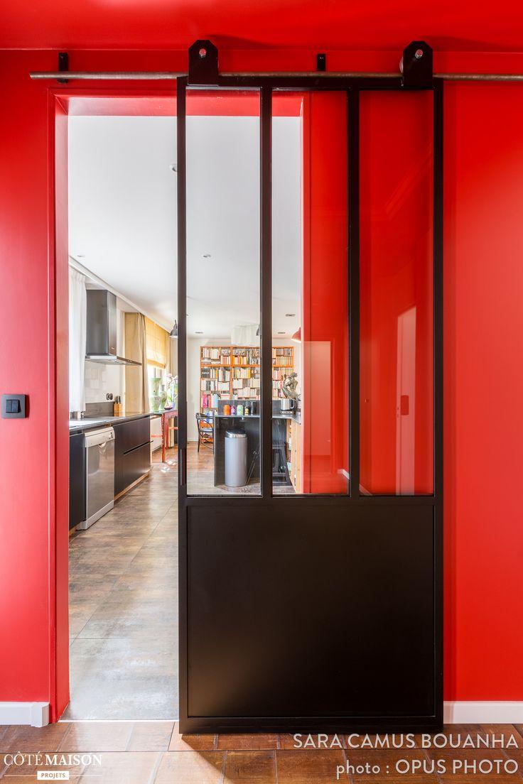 Les 25 meilleures id es concernant escalier ouvert sur - Comment separer une chambre en deux ...