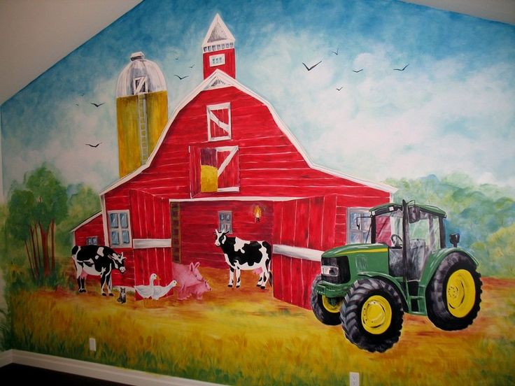 John Deere Wall Mural : Best john deere images on pinterest tractors jd