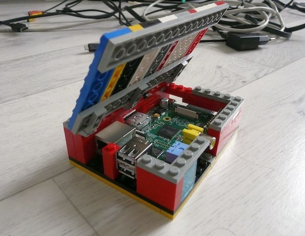 How to make your own Lego Raspberry Pi computer case in a jiffy