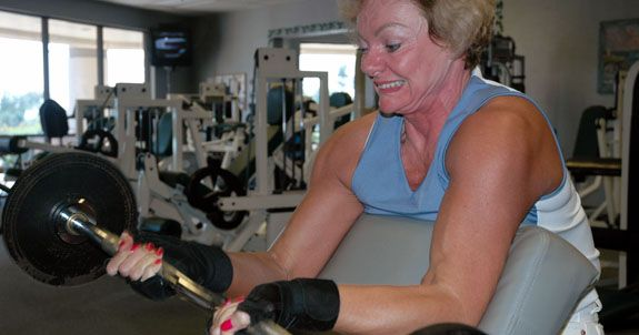 COOL Article about weight lifting and aging!