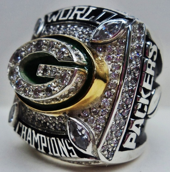 championship ring fantasy football rings featured front large collections gold undisputed belts