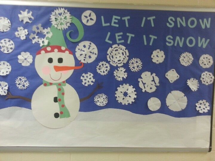 Winter Wonderland Preschool Classroom Decorations ~ Best images about bulletin boards winter on pinterest