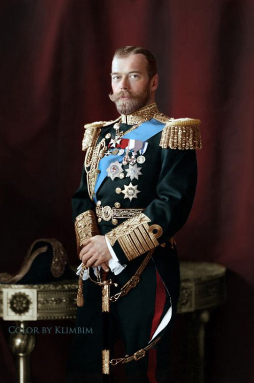 What problems did Nicholas II (Russian Tsar) face in 1894?
