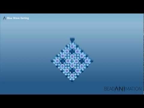 BlueWave Earring  wobderful tutorial