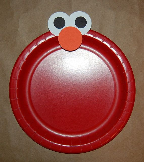 While we don't need to do Elmo (we could... ;-) the idea of making cheaper plates nicer by adding a crown or some decoration on the edges is something.