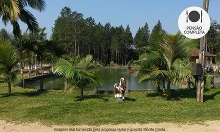 Garuva/SC: até 5 noites para 2 no Hotel Fazenda Monte Crista