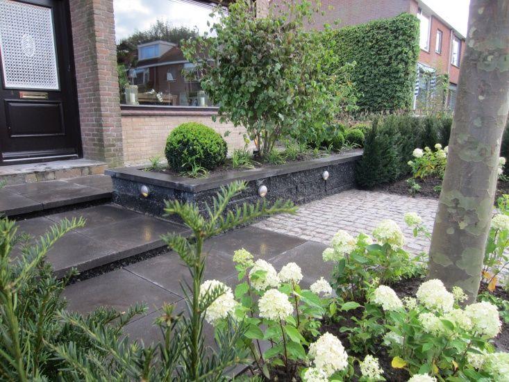 Voorbeeld hoge steen plantenbak border tuin almelo pinterest gardens - Outdoor tuin decoratie ideeen ...
