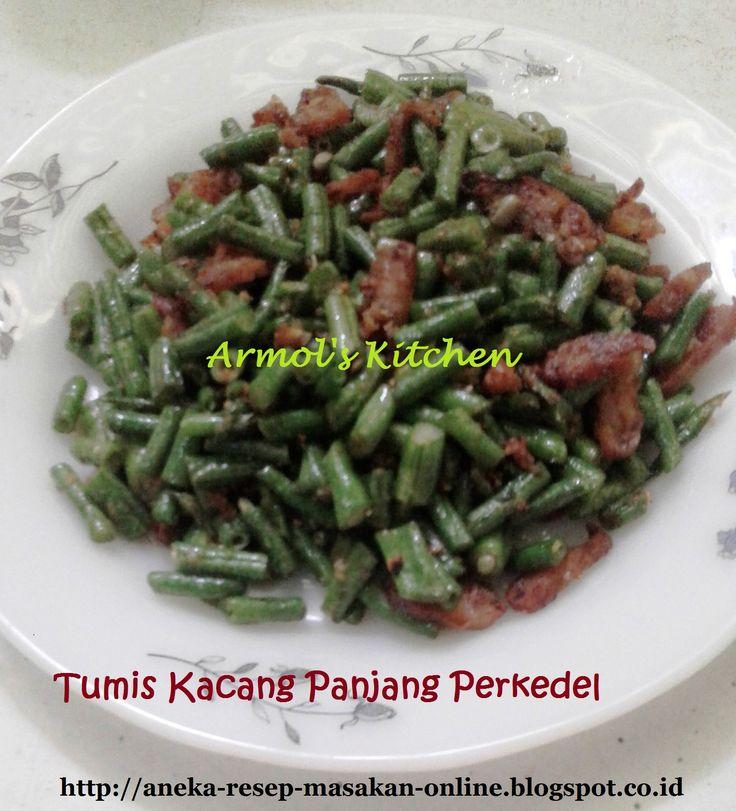 Tumis Kacang Panjang Perkedel  Kacang panjang dimasak dengan bawang putih dan perkedel.  Yuk simak resepnya http://aneka-resep-masakan-online.blogspot.co.id/2016/08/resep-tumis-kacang-panjang-perkedel.html