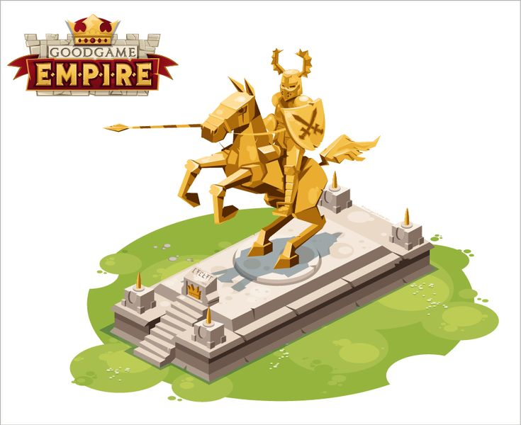 Goodgame Empire - Golden Knight