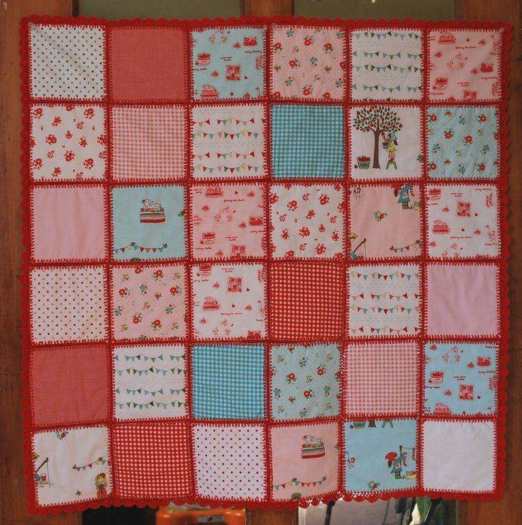 Como hacer una colcha en patchwork Todo