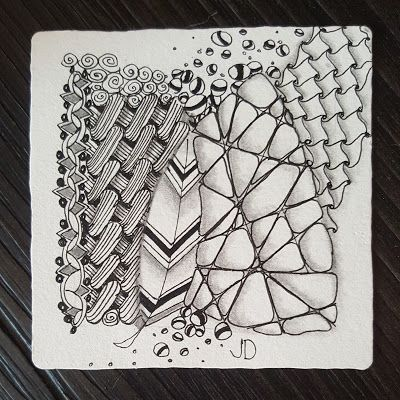 I am the diva - Certified Zentangle Teacher (CZT®): Weekly Challenge #325 - Guest Post by Jessica Davies PART TWO!