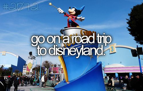 Only a couple more months! Yay :): Bucketlist, Buckets Lists, Disney World, Road Trips, Senior Trips, Disneyland, Roads Trips, Roadtrip