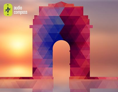 """Check out new work on my @Behance portfolio: """"AudioCompass_India Gate Monument"""" http://be.net/gallery/33906186/AudioCompass_India-Gate-Monument"""