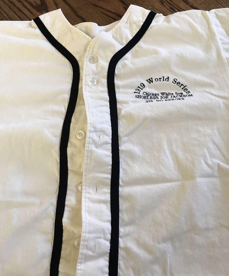 Shoeless Joe Jackson 1919 World Series White Sox Jersey Teamwork A Apparel XL #TeamworkAthleticApparel #ChicagoWhiteSox