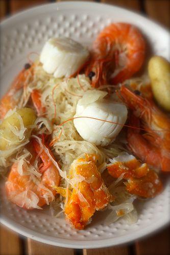 Choucroute de poisson | Ma p'tite cuisine