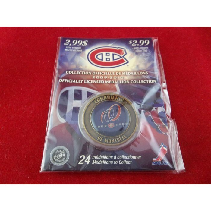 new products c79ce bf576 Activa NHL NHLPA Canadiens De Montreal 100th Anniversary ...