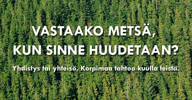 #korpimaa #kainuu #yhdistykset #yhteisot http://www.korpimaa.fi/artikkelit/