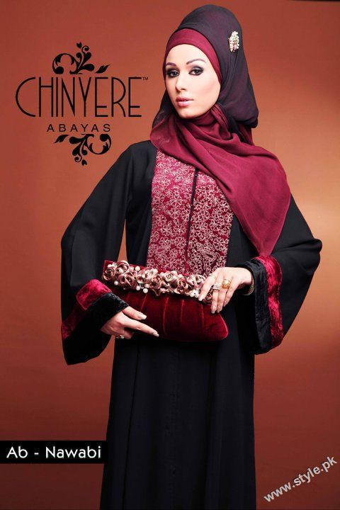 Chinyere is a very famous women wear fashion brand by Bareeze. Now Chinyere has introduced us with beautiful designer made Abayas for Muslim women of Pakistan.