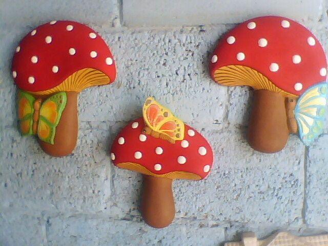 39 best images about hongos decorados on pinterest for Hongos de jardin