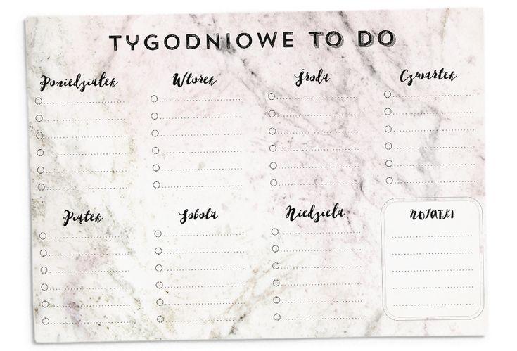 Marmurowa lista to do, mój planner rzeczy do zrobienia nie wymaga olbrzymiego…
