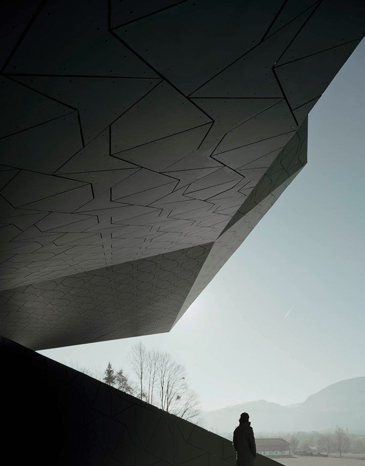 Festival Hall of the Tiroler Festspiele Erl by Delugan Meissl Associated Architects | photo © Brigida González / http://www.yatzer.com/festival-hall-of-the-tiroler-festspiele-erl-delugan-meissl-associated-architects
