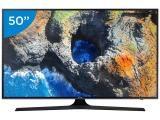 """Smart TV LED 50"""" Samsung 4K Ultra HD 50MU6100 - Conversor Digital Wi-Fi 3 HDMI 2 USB"""