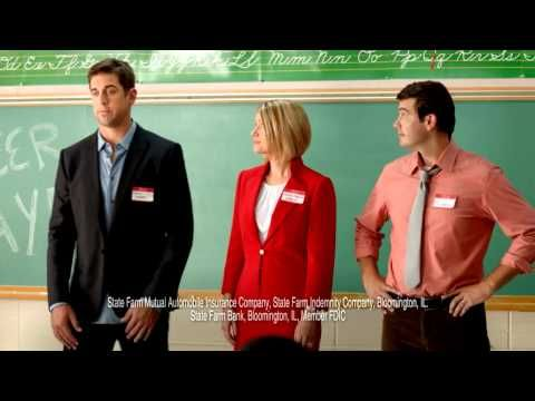 Aaron Rodgers State Farm Commercial - State of Detention. The kid the end cracks me up every time :D