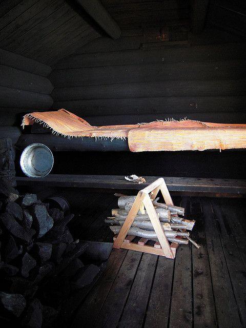 Smoked sauna