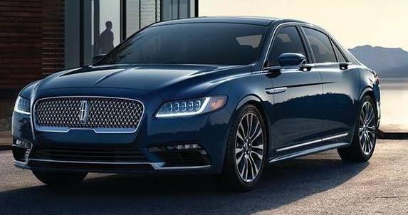 2017 Lincoln Continental leak