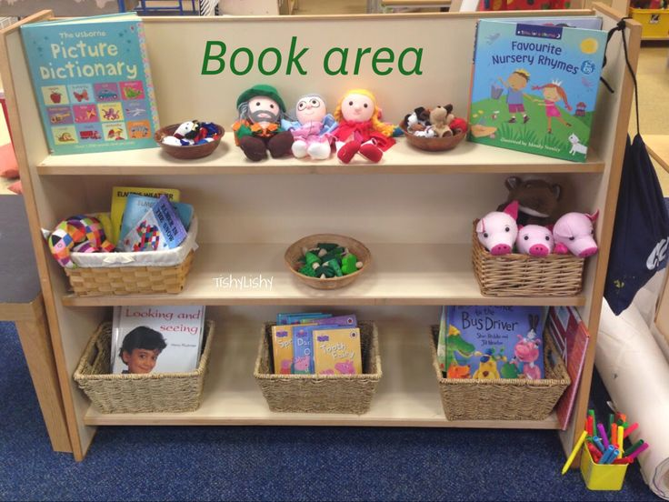 Book area shelf