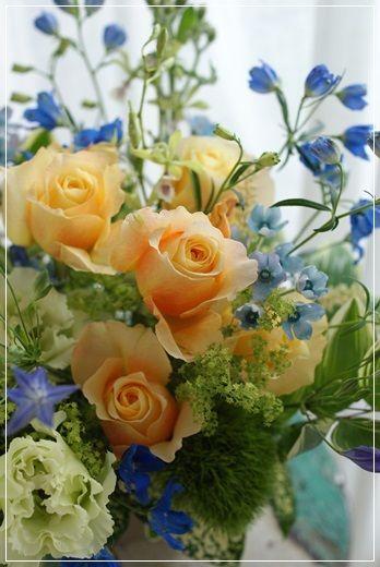 【今日の贈花】誕生日祝で喜ばれるお花は。。 Flower note の 花日記 (横浜・上大岡 アレンジメント教室)