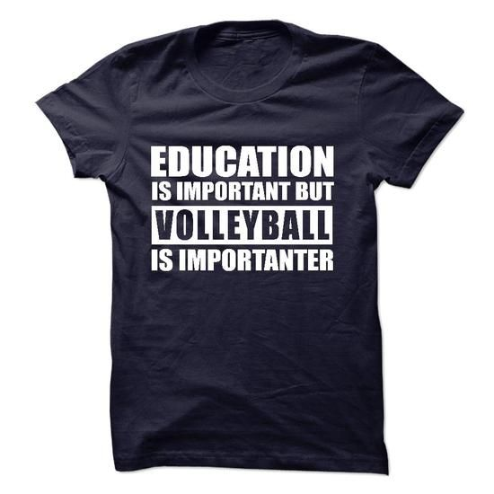 VOLLEYBALL is importanter #jean shirt #tshirt illustration. GUARANTEE => https://www.sunfrog.com/Sports/VOLLEYBALL-is-importanter-57282643-Guys.html?id=60505