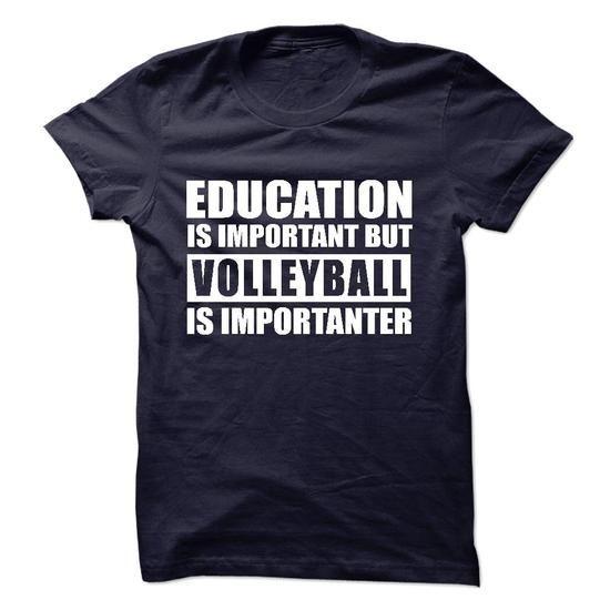 VOLLEYBALL is importanter #jean shirt #tshirt illustration. GUARANTEE => https://www.sunfrog.com/Sports/VOLLEYBALL-is-importanter-57282643-Guys.html?id=60505