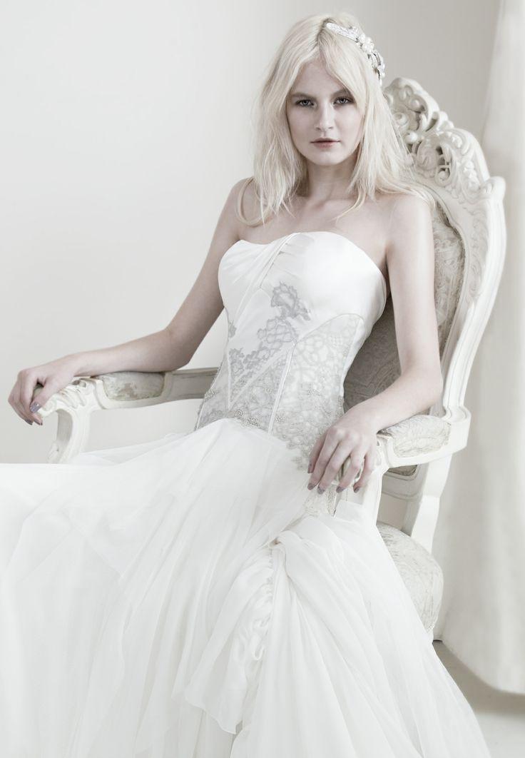 Mariana Hardwick - Precious Curiosities 2012 Celeste Gown