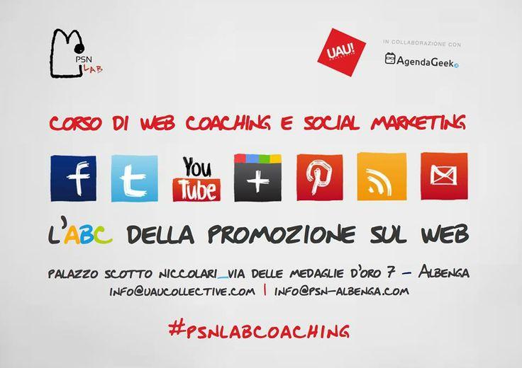 """corso """"L'ABC della Promozione sul web"""" - web coaching e social media marketing autunno 2013 #SMM #formazione #albenga #psnlab"""