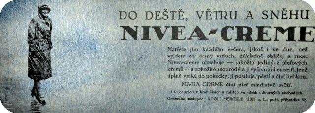 Dávno nedávno: Nivea