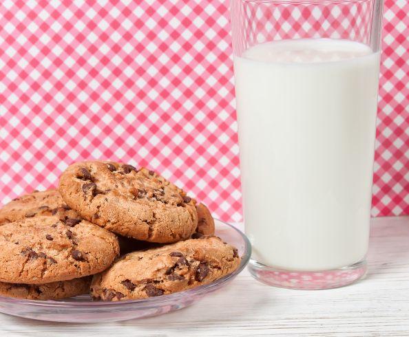 Biscotti banana  cioccolato
